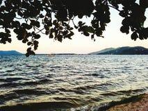Lagoa Royalty Free Stock Photo