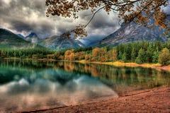 Lagoa da cunha Imagens de Stock