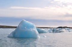 Lagoa da geleira Fotos de Stock