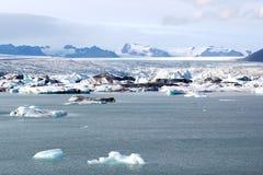 Lagoa da geleira Imagem de Stock Royalty Free