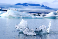 Lagoa da geleira Imagens de Stock Royalty Free