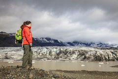 Lagoa da geleira de Fjallsarlon Fotografia de Stock Royalty Free