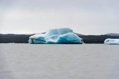 Lagoa da geleira de Skaftafellsjokull Imagem de Stock