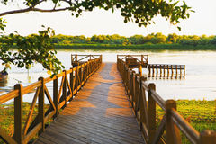 Lagoa da madeira do beira-rio Fotos de Stock