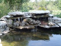 Lagoa da mola Foto de Stock Royalty Free
