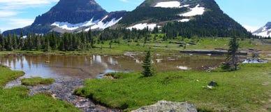 Lagoa da montanha Fotos de Stock Royalty Free