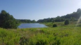 Lagoa da natureza Fotos de Stock Royalty Free