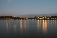 Lagoa da Pampulha (Pampulha jezioro) - Belo Horizonte/MG - Brazylia Zdjęcia Stock
