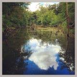 Lagoa da reflexão foto de stock royalty free