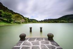 Lagoa DAS Furnas in Azoren Lizenzfreie Stockfotografie