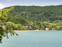 Lagoa DAS Furnas, sao Miguel, Açores, Portugal images libres de droits