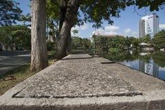 Lagoa das ilusões, parque canabal Villahermosa do garrido dos tomas, Tabasco, México Fotografia de Stock Royalty Free