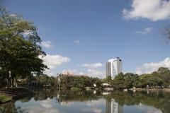 Lagoa das ilusões, parque canabal Villahermosa do garrido dos tomas, Tabasco, México Fotografia de Stock