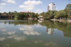 Lagoa das ilusões, parque canabal Villahermosa do garrido dos tomas, Tabasco, México Imagem de Stock Royalty Free