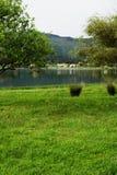 Lagoa das Sete Cidades,圣地米格尔,葡萄牙 库存图片