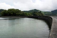 Lagoa das Sete Cidades,圣地米格尔,葡萄牙 图库摄影