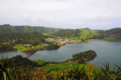 Lagoa das Sete Cidades Стоковое фото RF