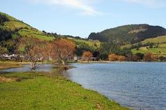 Lagoa DAS Sete Cidades Fotografia de Stock Royalty Free