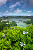 Lagoa DAS Sete Cidades Imagens de Stock
