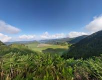 Lagoa das Sete Cidades de Azoren Royalty-vrije Stock Afbeelding