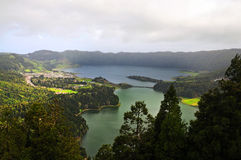 Lagoa das Sete Cidades Royalty Free Stock Photos