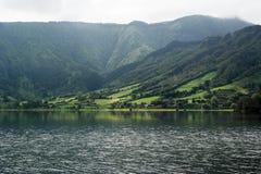 Lagoa DAS Sete Cidades, Sao Miguel, Portugal Fotos de Stock