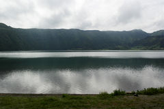Lagoa das Sete Cidades, Sao Miguel, Portugal Royaltyfri Bild
