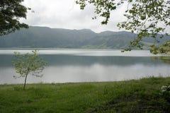Lagoa DAS Sete Cidades, Sao Miguel, Portugal Fotografia de Stock Royalty Free