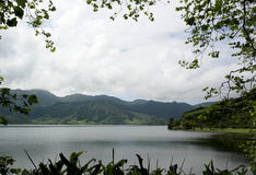 Lagoa DAS Sete Cidades, Sao Miguel, Portugal Lizenzfreie Stockfotos