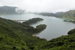 Lagoa DAS Sete Cidades, Sao Miguel, Portugal Fotografia de Stock