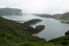 Lagoa das Sete Cidades, Sao Miguel, Portugal Royalty Free Stock Photo