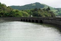 Lagoa das Sete Cidades, Sao Miguel, Portugal Stock Image