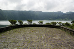 Lagoa das Sete Cidades, Sao Miguel, Portugalia Obraz Stock