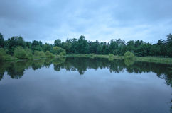 Lagoa de água Imagem de Stock Royalty Free