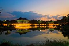 Lagoa de Anapji Imagens de Stock