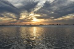 Lagoa de Chascomús, Buenos Aires fotografia de stock royalty free
