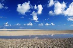 Lagoa de Detwah Fotos de Stock