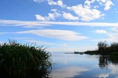 Lagoa de Erhai foto de stock