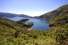 Lagoa De Fuego Arkivfoton