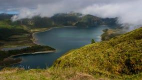 Lagoa De Fuego fotografie stock