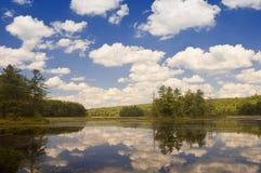 Lagoa de Harvard Foto de Stock Royalty Free