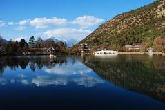 Lagoa de Heilong Foto de Stock Royalty Free