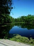 Lagoa de Nashawannuck imagem de stock royalty free