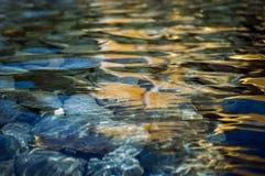 Lagoa de pedra fotografia de stock