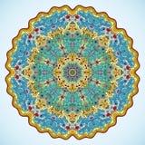 Lagoa de peixes redonda do ornamento Foto de Stock Royalty Free