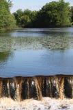 Lagoa de pesca Imagem de Stock