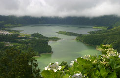 Lagoa de Sete Cidades, Sao Miguel, Azores, Portugal. Stock Images