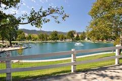 Lagoa de Temecula Fotografia de Stock Royalty Free