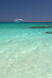 Lagoa de turquesa Fotografia de Stock Royalty Free