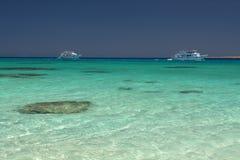 Lagoa de turquesa Imagem de Stock Royalty Free